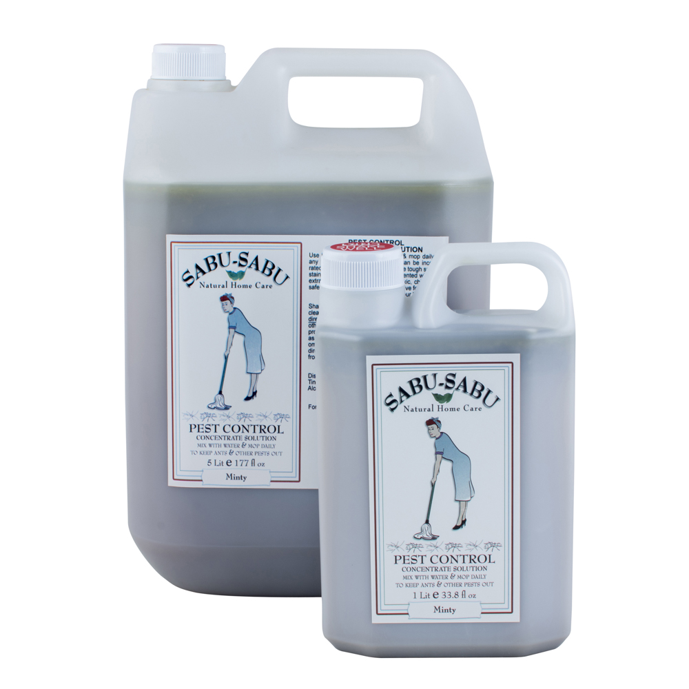 Pest Control Floor Cleaner Minty Sabu Sabu Natural