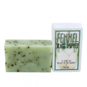 Fennel & Black Pepper Soap Bar