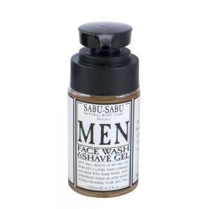 Men's Face Wash & Shaving Gel